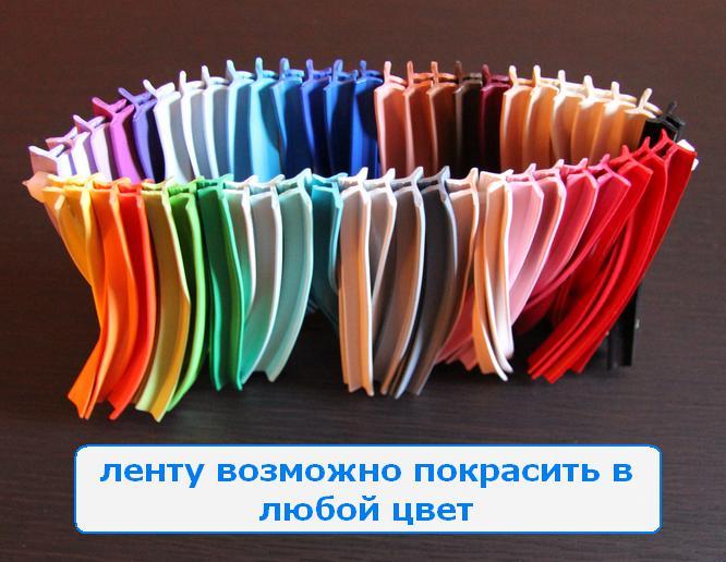 Цветная лента маскировочная для натяжных потолков