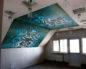 Натяжной потолок мансарда