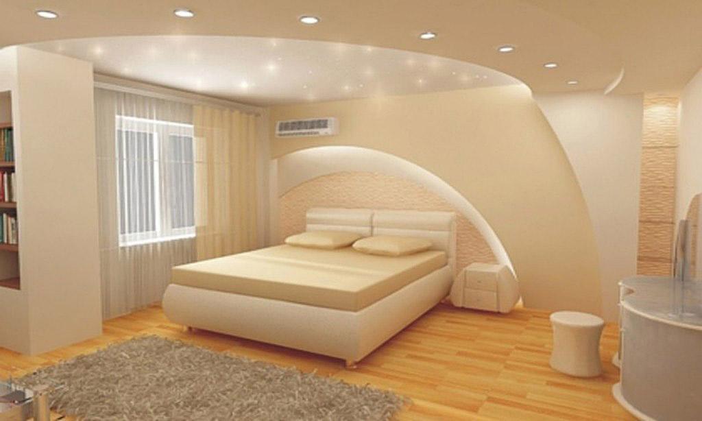 Как сделать потолок в комнате из гкл