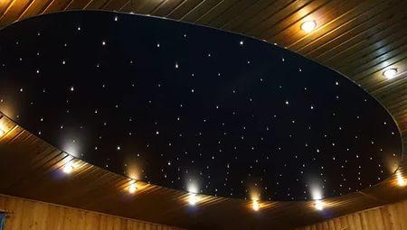 Звёздное небо при помощи светодиодов
