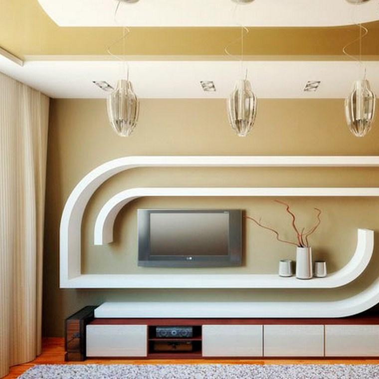 Как сделать нишу на стене под телевизор 83