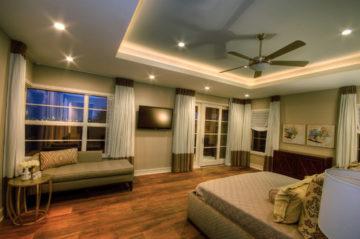 Двухъярусный потолок из гипсокартона