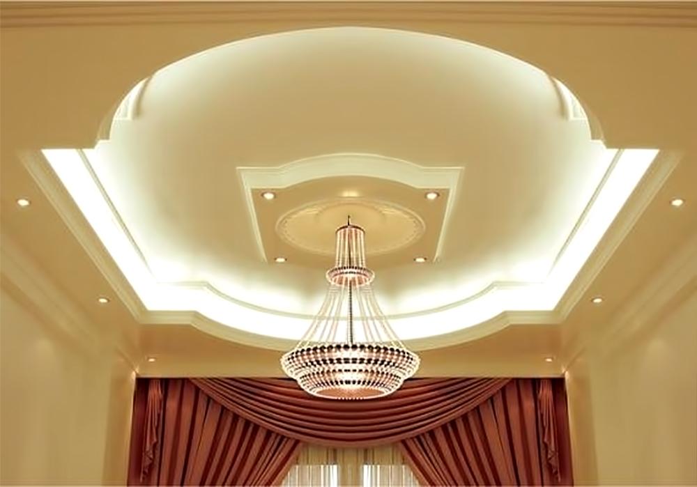 Потолок из. гипсокартона
