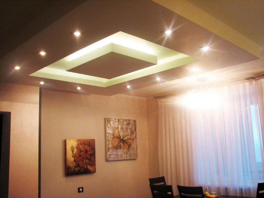 Многоуровневый потолок из гипрока