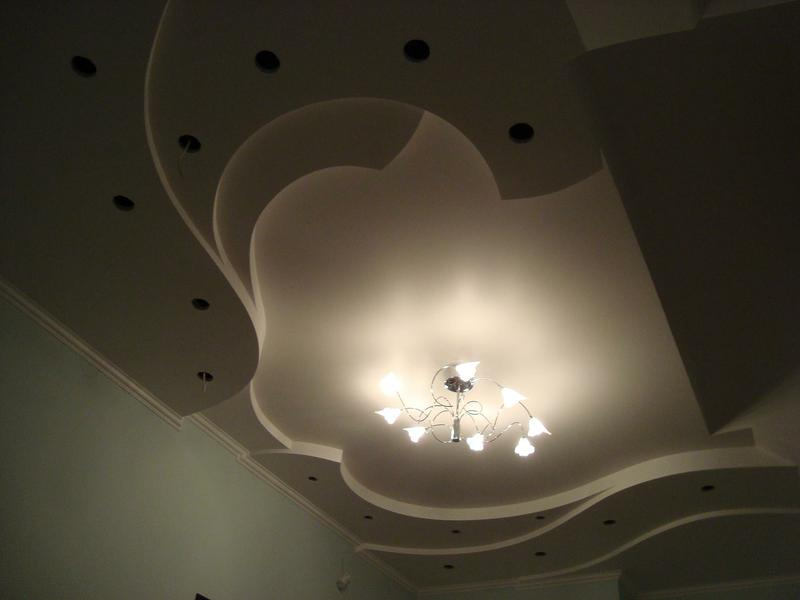 Варианты потолка