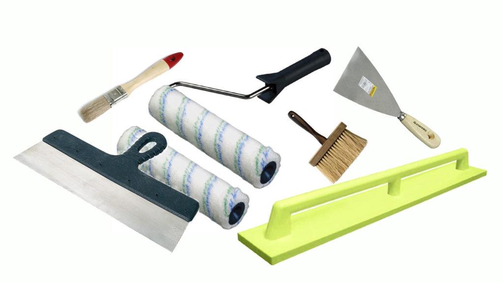 Инструменты для отделки