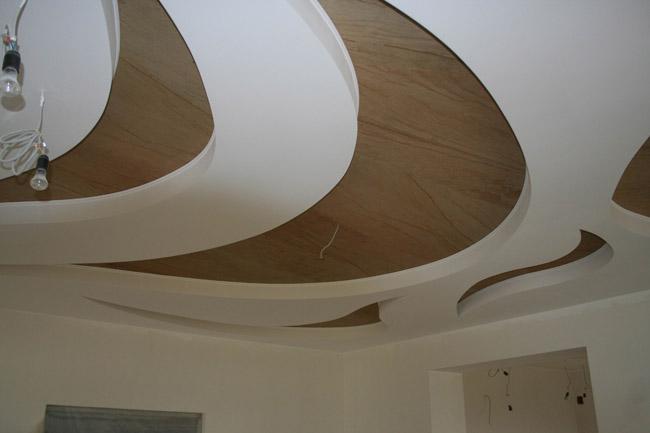 Потолок из гипрока