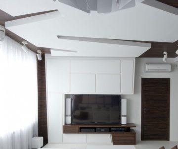 Потолок из гипсокаротона
