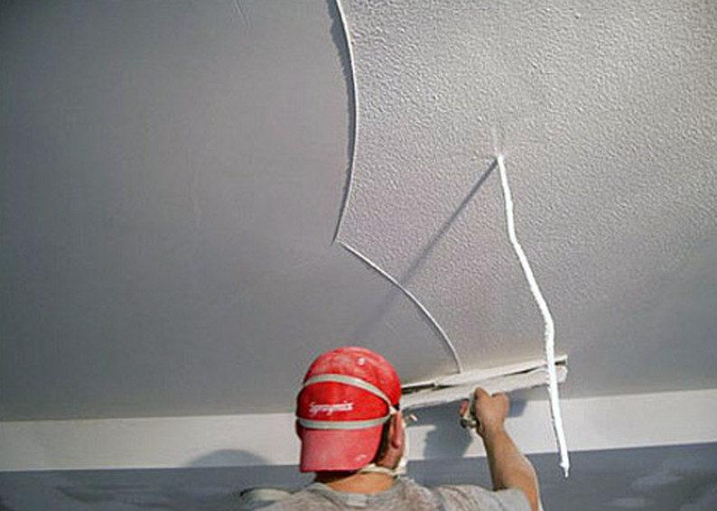 Финишная отделка для потолка