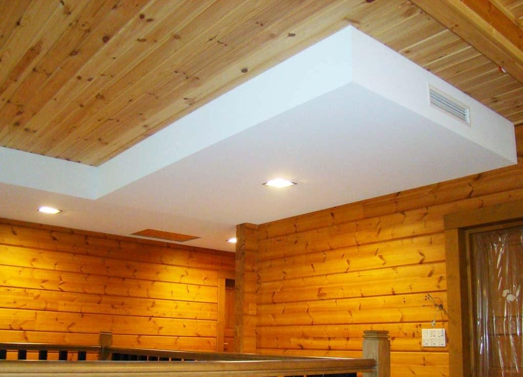 Чем отделать потолок в частном доме своими руками 79