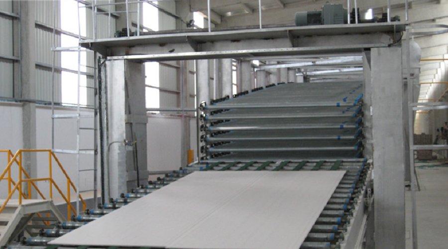 Производство листов ГКЛ