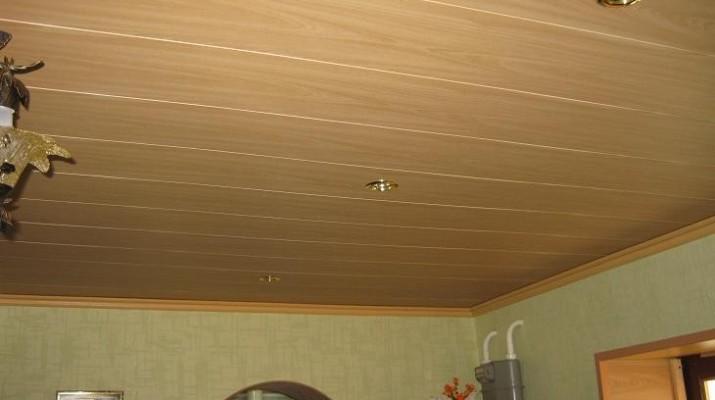 Подшивка потолка вагонкой