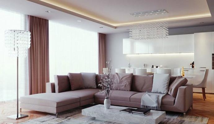 Потолки из гипсокартона в частном доме