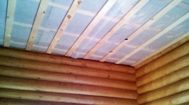 Пароизоляция потолка в помещениях с высоким уровнем влажности