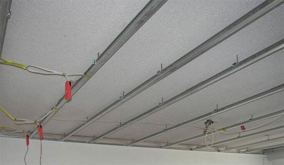 монтаж фигурных потолков из гипсокартона