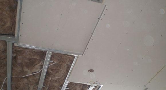 как сделать монтаж гипсокартонного потолка