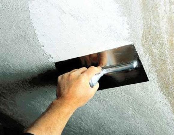 технология шпаклевка потолка