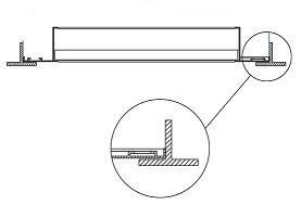 Монтаж решетки вентиляции потолка