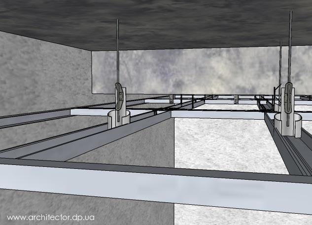 подвес потолочный для гипсокартона термобелье