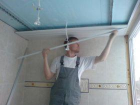 Правильная последовательность операций при монтаже реечного потолка