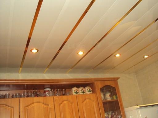 Эффектная способ отделки - реечный потолок - можно сделать и своими руками