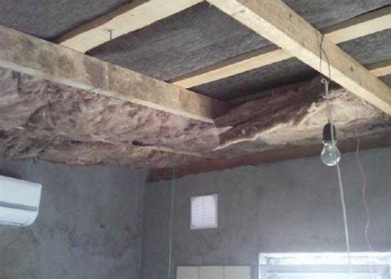 чем сделать потолок в гараже