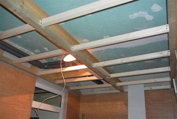 потолки панельные подвесные устройство