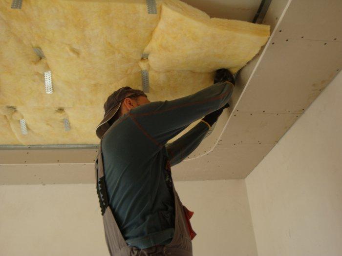 Надежная система звукоизоляции помещений - акустический подвесной потолок