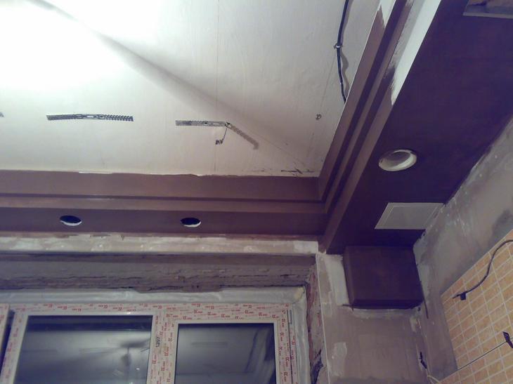 короб для потолка