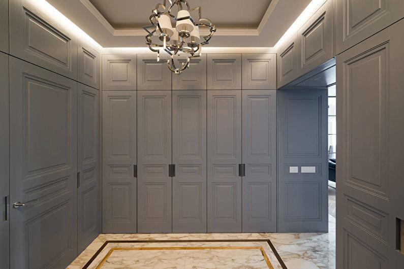 Потолок из гипсокартона в прихожей - Освещение и подсветка
