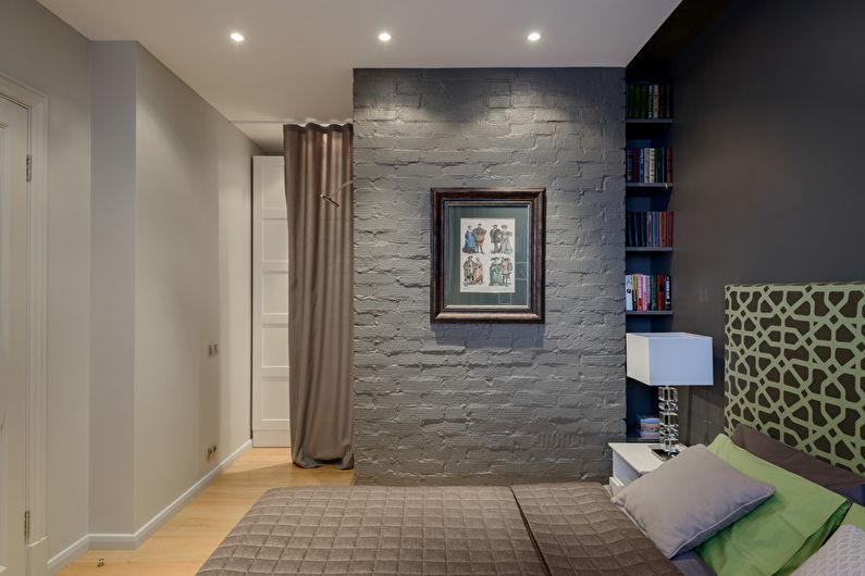 Монтаж потолка из гипсокартона в спальне