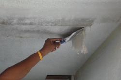 Подготовка потолка к шпаклевке