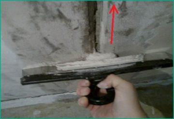 затирка рустов цементным раствором