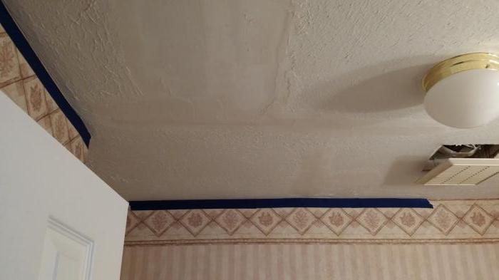 чем заделать шов на потолке между плитами советы