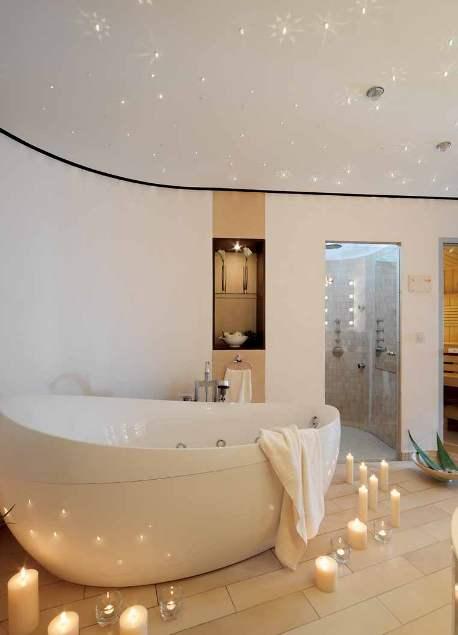 Фото 1 - Навесной потолок в ванной