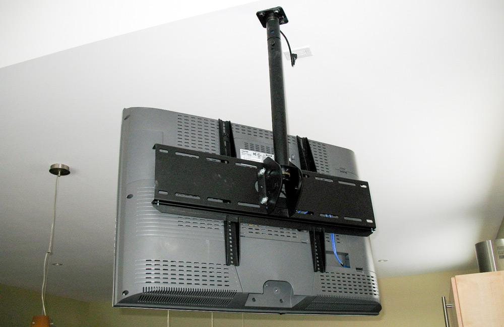 Кронштейн для крепления телевизора под потолком
