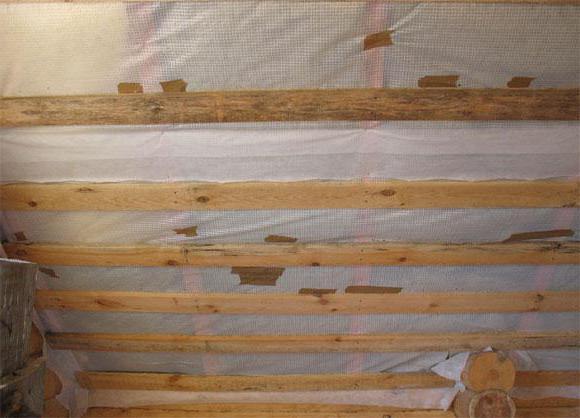 гидроизоляция бетонного потолка
