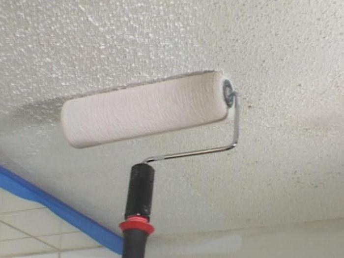 побелка потолка водоэмульсионной краской своими руками отзывы