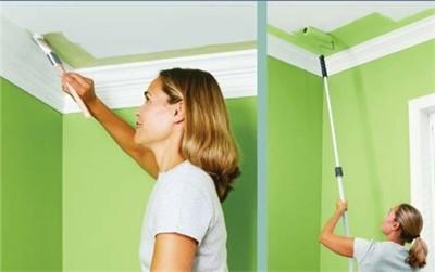 Покраска потолка на кухне