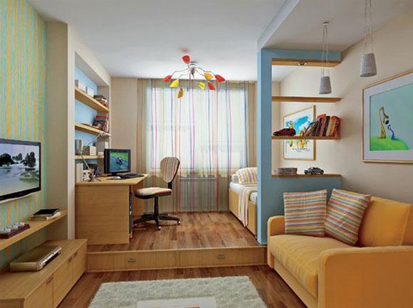 квартиры с высокими потолками