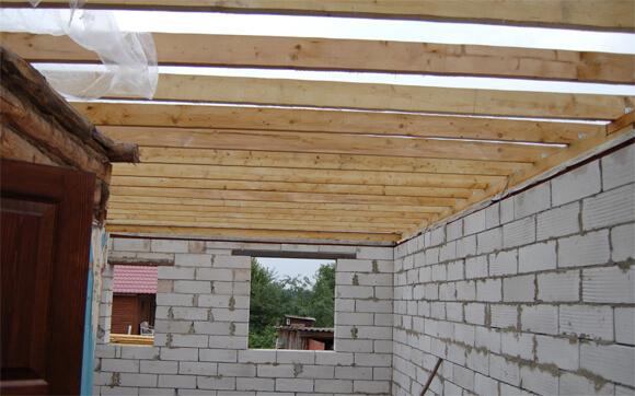 перекрытие потолка своими руками