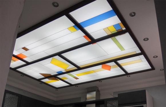 витражный потолок преимущества