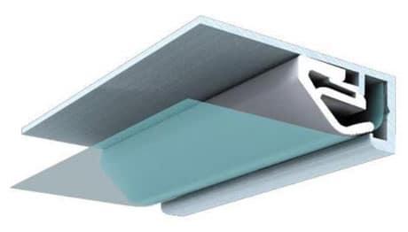 Поливинилхлоридный багет для натяжных потолков