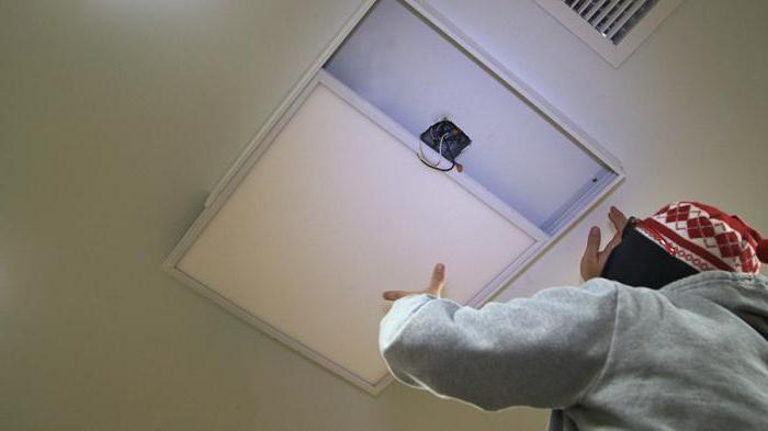световые панели на потолок в квартире
