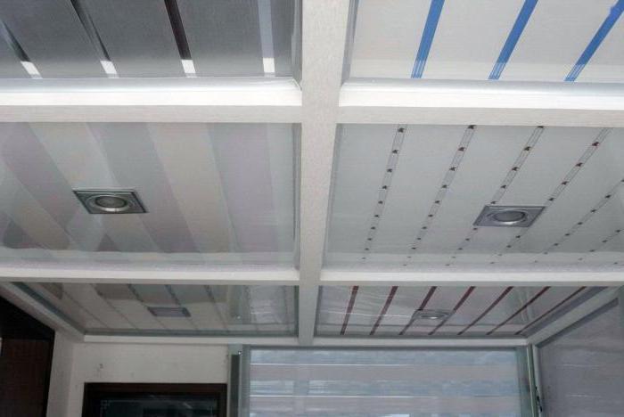 материал для оформления потолка
