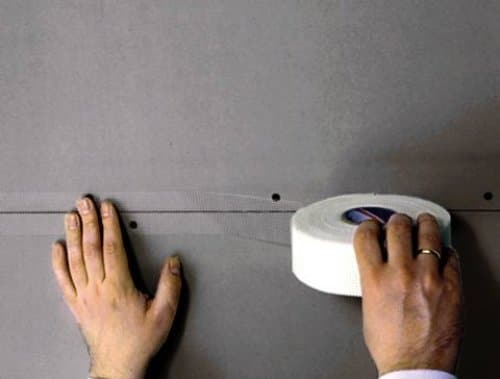 Бандажирование применяется для тех поверхностей, которые впоследствии будут окрашены