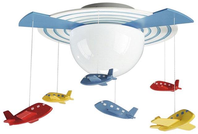 светильник-вентилятор в детскую комнату