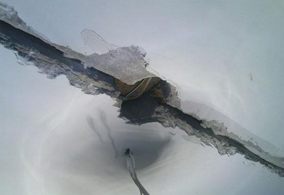 заделка рустов на потолке
