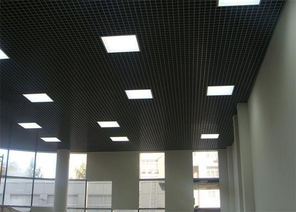 офисные встраиваемые светильники