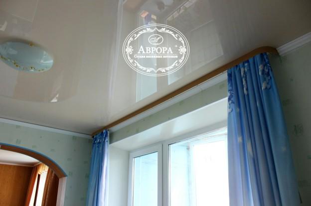 гардины фото потолки натяжные